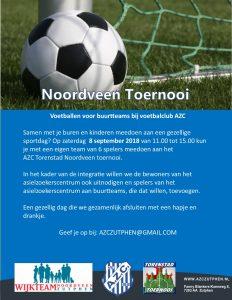 Doe mee met het AZC Torenstad Noordveen-toernooi!